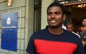Sri Lanka cricket skipper Angelo Mathews